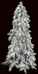 4' and 7' Flocked Tree with LED lights
