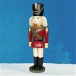 Sculpted Nutcracker Soldier with jewels