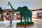 Topiary Elephant with LED Lights