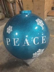 Custom Logo Giant Ball Ornament