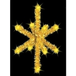 3D Garland tree topper star