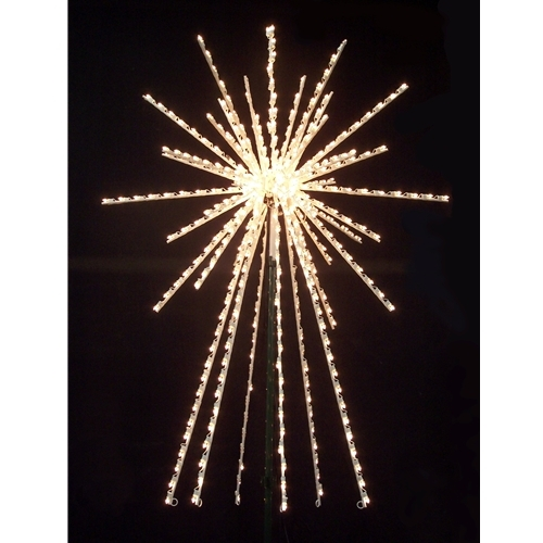 3d royal tree topper starburst larger photo email a friend - Lighted Christmas Tree Toppers
