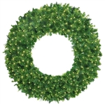 LED lighted wreaths in various sizes