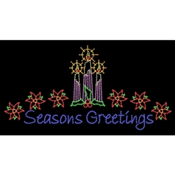 LED Commercial Seasons Greetings display 18' X 35'