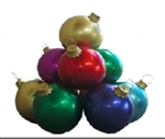Fiberglass Ball Ornaments