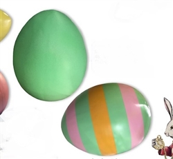 "Fiberglass Easter Eggs 14"" to 66"""