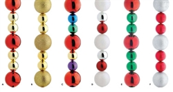 Ball ornament stringers