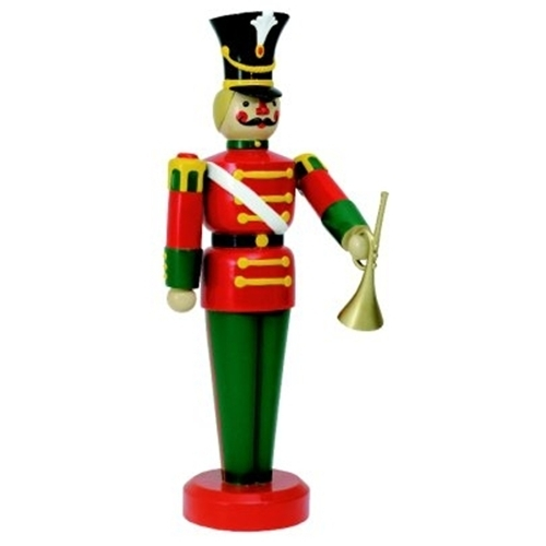 larger photo email a friend - Large Toy Soldier Christmas Decoration
