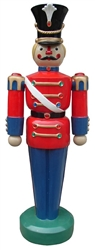 Giant Toy Soldier with jewels