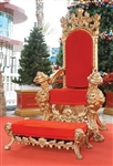 Giant Santa Chair
