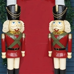 fiberglass nutcrackers pair of two