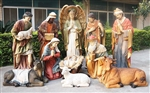 Full Nativity Set - Life Size