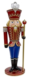 Giant Nutcracker made from fiberglass