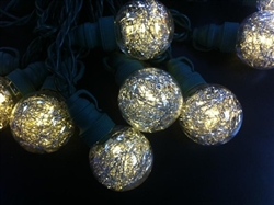 G40 Tinsel Globe Lights