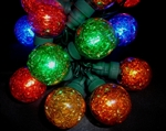 Tinsel Globe LED 25 Light sets
