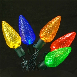 C9 Muti colored LED lights sold 12 per case