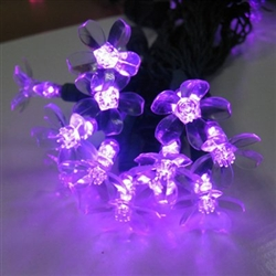 LED flower Light sets 17' long