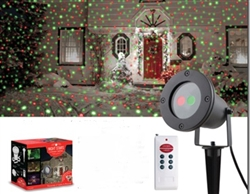 LED Laser with Red and Green