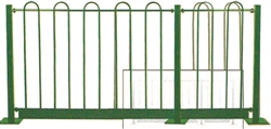 Holiday Metal Security Fencing & Posts