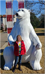 7' tall Polar Bear