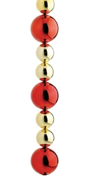 Ball ornament stringer