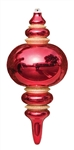"13"" Red, Gold or Silver ornament"