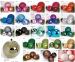 Shiny or Matt finish Ball Ornaments