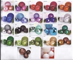 "24"" Tall shatterproof ball ornaments"