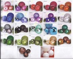 "24"" Giant Shiny or Matte Ball Christmas Ornaments"