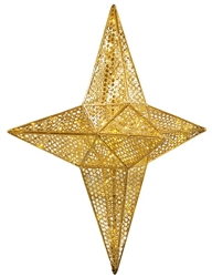 Pattern LED lighted Star