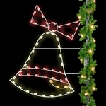 6' Pole mount Christmas Bell