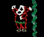 Sparkling Economy 5' Santa Decoration with LED lighting