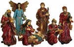 Life Size Nativity painted or white