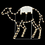 6' Silhouette Camel with standard or LED Bulbs