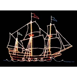 21' X 28' Galleon with standard or LED Bulbs