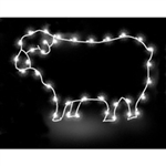 2 1/2' Silhouette Sheep with LED or Standard bulbs