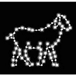 3' Sheep facing right with LED Bulbs