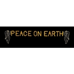 peace on Earth with Angels ground mount display