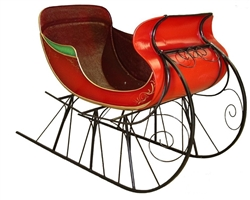 Red Sleigh prop