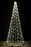 Streamer Trees with C7 LED Bulbs