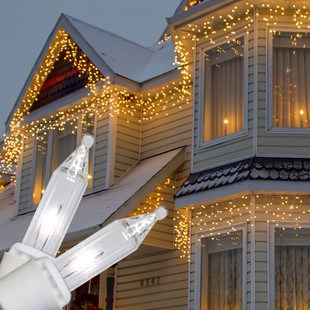 how to decorate with icicle lights.htm 150 clear icicle lights with white wire  150 clear icicle lights with white wire