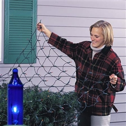 100 Light Net lights for bushes and shrubs