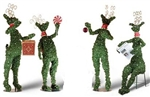 Topiary Deer sitting or standing