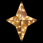3' and 4' 3-D Nativity Star Tree Topper