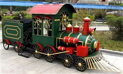 Christmas Train with rolling wheels