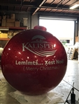 "84"" Fiberglass Custom Ball Ornament"