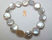 3028 Coin Fresh Water Pearl Bracelet