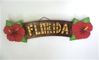 Florida Wooden Sign