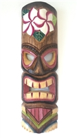 Tiki Wooden Mask with hanger