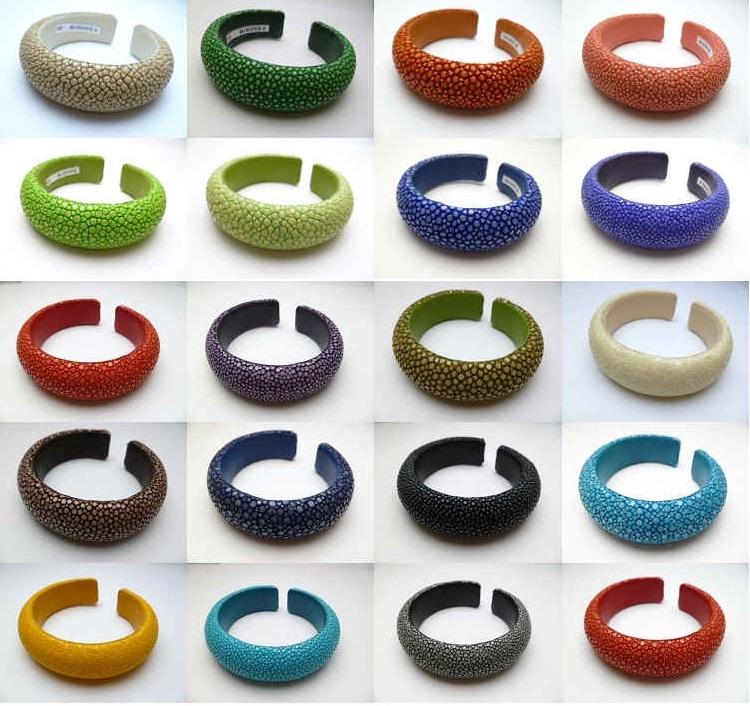 68107 20 20mm Stingray Leather Bracelet
